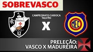As informações e as nossas expectativas para a partida entre Vasco e Madureira pela 3ª rodada do 2º turno do campeonato Carioca! Confere aí! curta nossa Fan-...