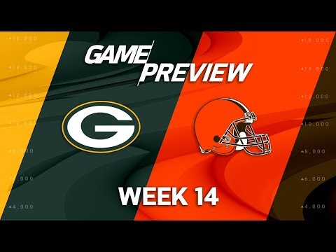 Video: Green Bay Packers vs. Cleveland Browns | NFL Week 14 Game Preview | NFL Playbook
