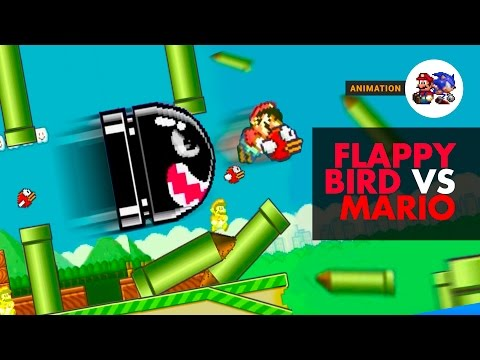 Flappy Bird VS Mario