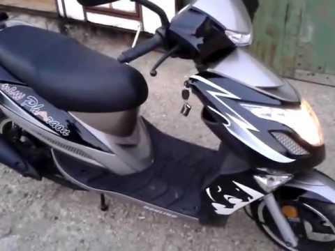 Небольшой обзор скутера Honling Pharaon 50 new 12