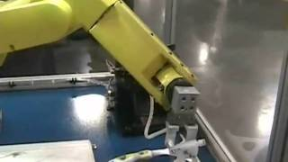 Robotic Show demo with Vision System