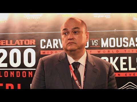 Scott Coker Post Fight Bellator 200 Interview