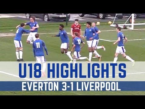 Video: U18 HIGHLIGHTS: EVERTON 3-1 LIVERPOOL