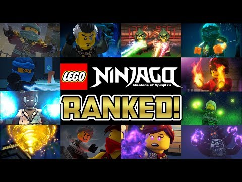 ALL 23 NINJAGO ELEMENTAL POWERS RANKED! 🔥⚡