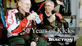 OLD CODGER DIRT RIDERS: 50 years of kicks