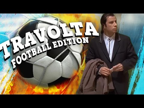 CONFUSED TRAVOLTA FOOTBALL EDITION