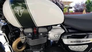 5. 2019 Triumph Scrambler 1200 XC - Fusion White & Brooklands Green