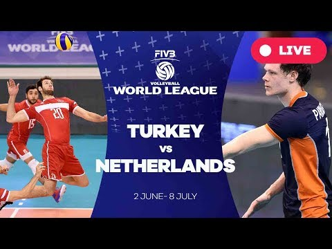 Turkey v Netherlands - Group 2: 2017 FIVB Volleyball World League
