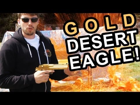 FPS Russia -  Gold Desert Eagle 50 Caliber