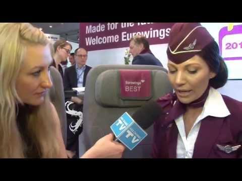 WEB CHANNEL TV auf der ITB 2015 Berlin im Gespräch mit Eurowings City Firmen Video Promotion