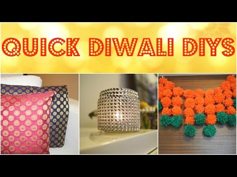 LAST MINUTE DIWALI DECORATION IDEAS ll Traditional Indian home decor ll simple and quick diy ll