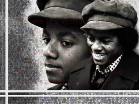 Michael Jackson : We are the World ( Solo ) - Lyrics on Screen