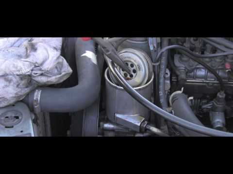 Mercedes Power Steering Fluid Flush and Filter Replacement