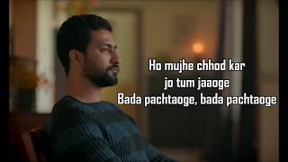 Pachtaoge   Arijit Singh   Jaani Ve   Jaani   B Praak   Vicky Kaushal , Nora Fatehi  