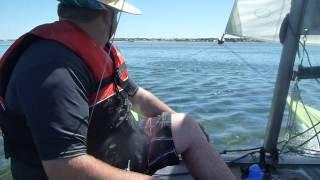 Stansbury Australia  city pictures gallery : Catamaran - Windrush 14 Sailing Stansbury, Australia