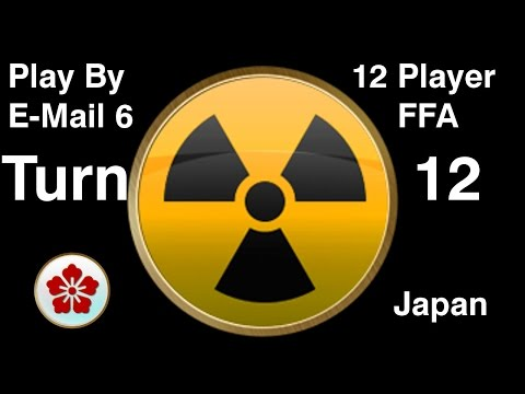PBEM 6 Turn 12 (12 Player Free For All: Japan) Gameplay/Commentary