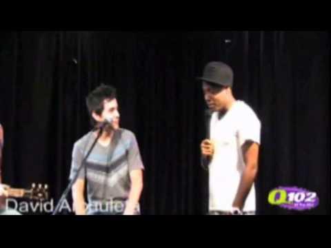 23-06 David Archuleta @ Q102 Interview & Performance, Philly (24 Aug 2010)