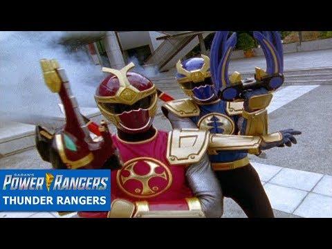 Power Rangers Official | Thunder Rangers Battles | Ninja Storm Episodes