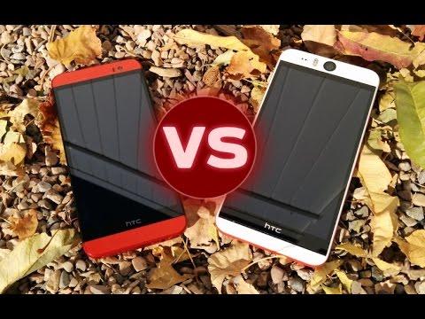 HTC Desire EYE vs HTC One E8