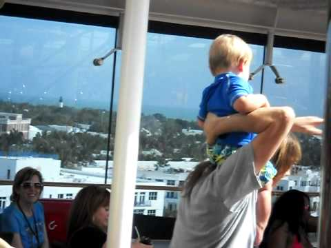 singer Jeff Keith with his son on the MOR Cruise