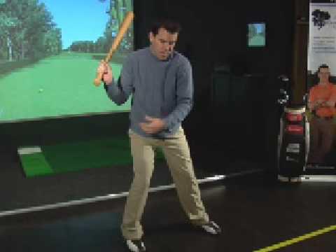Kalahari Golf Academy – Kinematic Sequence / Step, Change of Direction Bat Drill