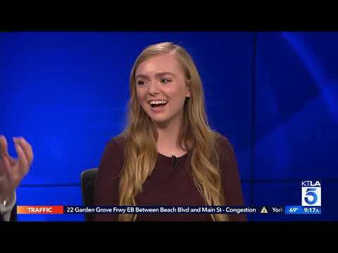 """Elsie Fisher on the Stress of """"Eighth Grade"""" & the App that can Help"""