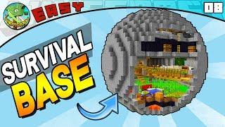 Minecraft Spherical Survival Base (EASY build 07)