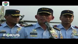 Video 2 Pesawat Militer Singapura dan Malaysia Bawa Bantuan Kemanusiaan Bencana Gempa Sulteng - Fokus Pagi MP3, 3GP, MP4, WEBM, AVI, FLV Mei 2019