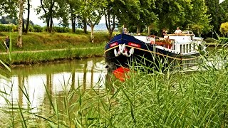 Hotel Barge Cruises On The Canal Du Midi - South Of France
