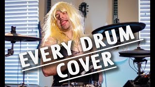 Video every type of drum cover MP3, 3GP, MP4, WEBM, AVI, FLV Maret 2018