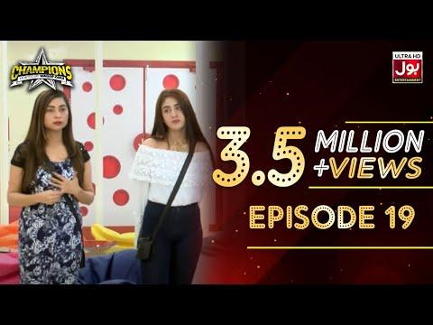 Champions With Waqar Zaka Episode 19   Champions BOL House   Waqar Zaka Show