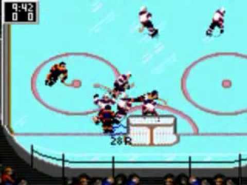 nhl hockey sega game gear