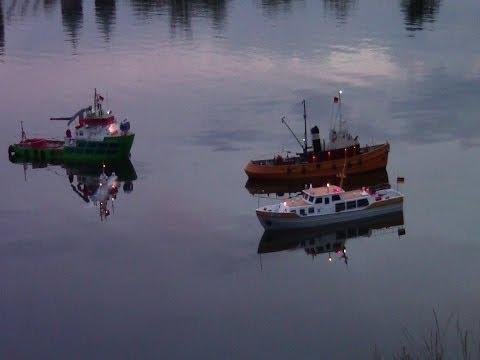 U Boot S173 verfängt sich in Schleppleine