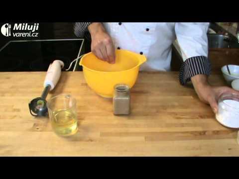 Citronovo-medové kuře s hořčičnou majonézou