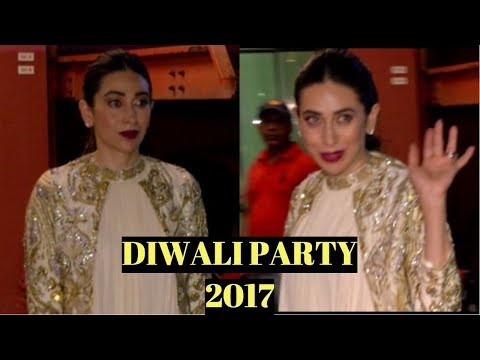 Karisma Kapoor At Arpita Khan's Diwali Party 2017