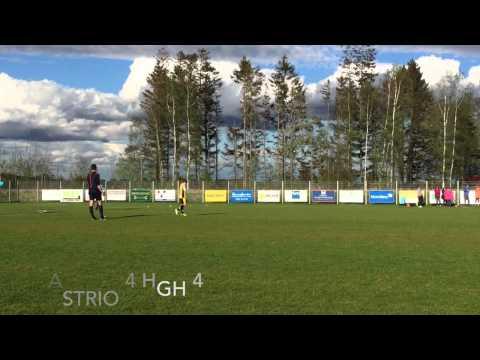 Straffar: HGH mot Astrio i Snöstorpscupens (SNFF) final 2015