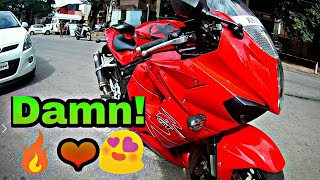6. Hyosung GT650R first ride and short review | Akropovic Exhaust | Damn speed and loud | Super bike