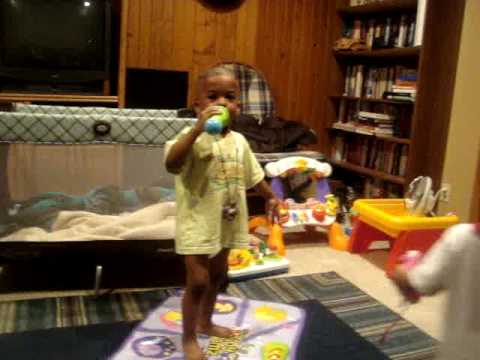 KD'S SON RAPPING!!!!