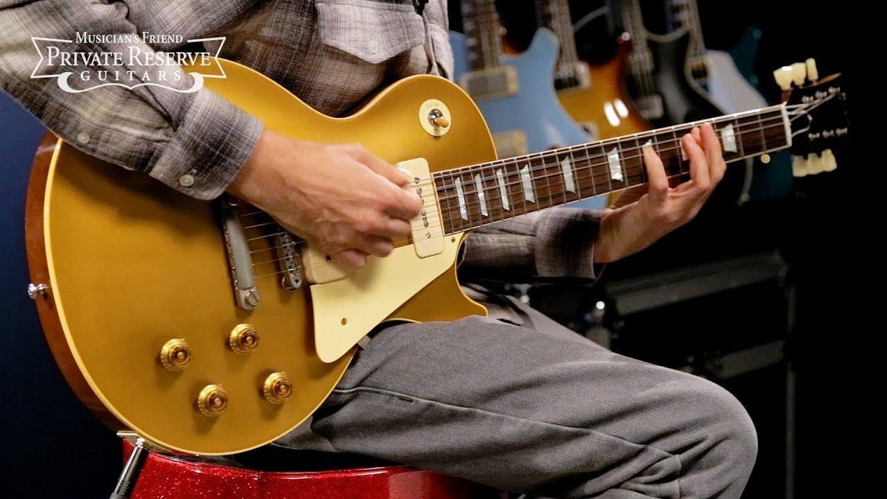 Gibson Custom 2018 VOS Historic '56 Les Paul Goldtop Electric Guitar