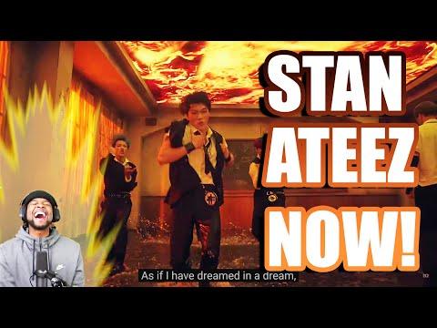 ATEEZ(에이티즈) - 'INCEPTION' Official MV | REACTION!!!