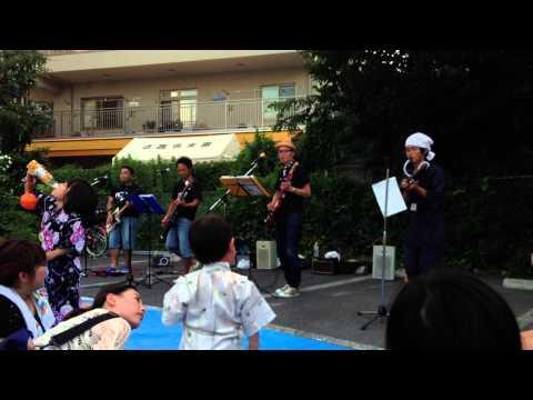ROB(洛西おやじバンド) ライブ in 夏祭り 2013 vol.2