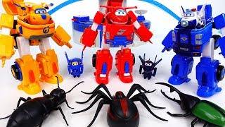 Video Go Go Super Wings Robot Suits~! Bugs In The World Airport - ToyMart TV MP3, 3GP, MP4, WEBM, AVI, FLV Desember 2017