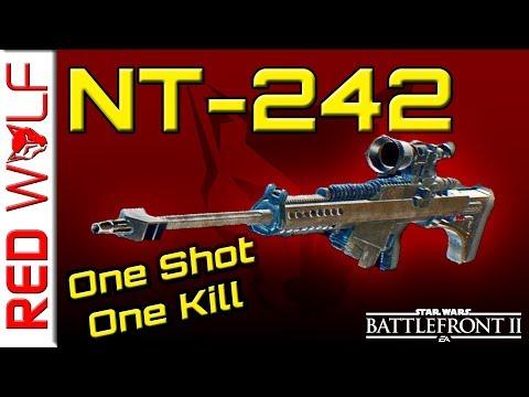 NT-242 Break Down & infiltration comparison - Star Wars Battlefront 2