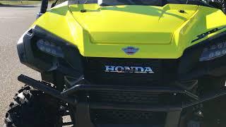 6. 2018 - Honda - Pioneer 1000-5 Deluxe