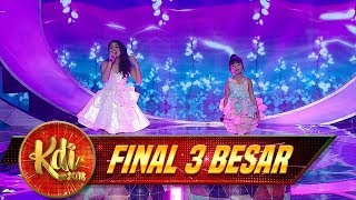 Video Kereeeennn Abissss, Delima Ft Ina Situbondo [SI KECIL] - Final 3 Besar KDI (25/9) MP3, 3GP, MP4, WEBM, AVI, FLV Januari 2019