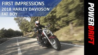 6. 2018 Harley Davidson Fat Boy : First Ride : PowerDrift