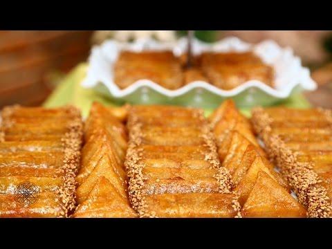 Recette Ramadan : Briouates et Cigares aux amandes