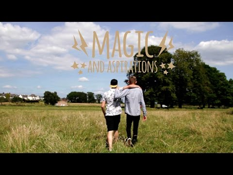 Magician Aaron McKnight wants to show others that following their dreams is the trick to finding happiness. With Fixers, the 17-year-old from Carlisle and his team have helped create this film to inspire others to do something they love.