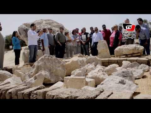 اكتشاف تمثال «الملكة تي» زوجة أمنحتب الثالث بالأقصر