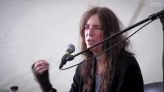 Patti Smith Interview: Advice to the Young